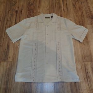 Cubavera Size Medium HAVANA NIGHT New Mens Shirt